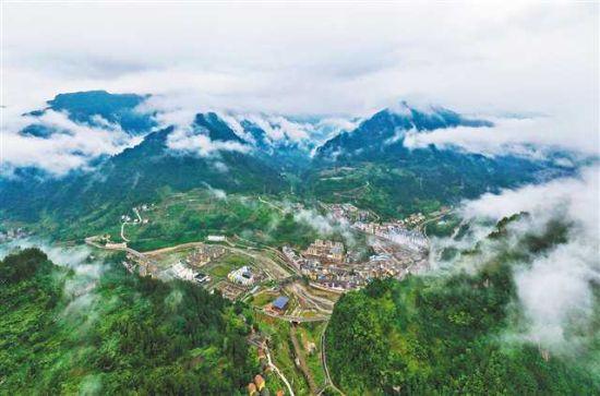 《【恒耀平台代理】石柱县中益乡―― 产业好了 环境美了》