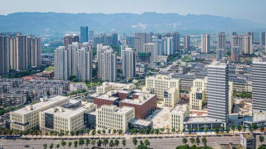图为重庆永川云谷、大数据产业园。 永川区委宣传部供图