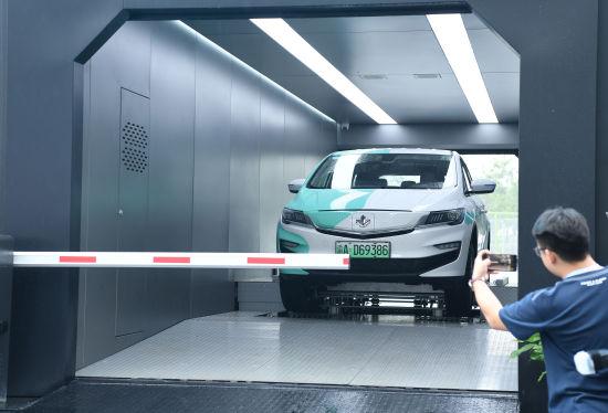 《【恒耀代理主管】吉利科技集团首个智能换电站在两江新区亮相》