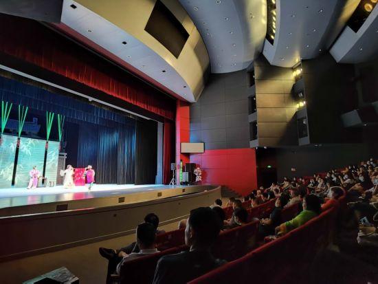 图为演出现场。川剧院供图