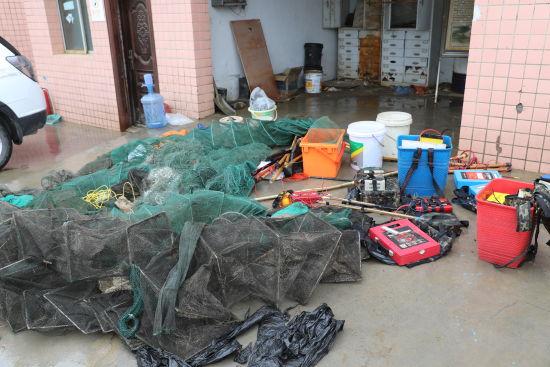 《【恒耀代理主管】重庆南川警方联合多部门集中销毁一批非法捕捞渔具》