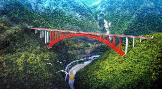 《【恒耀总代理】桥隧比超九成 创重庆高速之最 巫镇高速预计2023年建成》