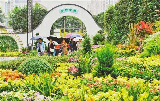 重庆市第24届菊花艺术展在巴南开幕