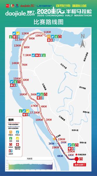 《【恒耀代理主管】2020重庆半程马拉松11月29日开跑》