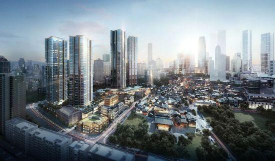 国浩·18T建面约90-600㎡解放碑·长江岸·环幕瞰江大平层新品面世。