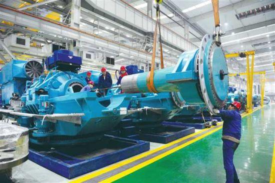 重庆齿轮箱集团船舶设备组装
