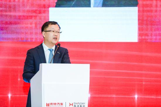 庆铃集团党委副书记、总经理/庆铃汽车股份公司董事长罗宇光。主办方供图