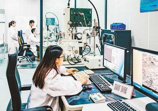 重庆大学电镜中心推动科技创新
