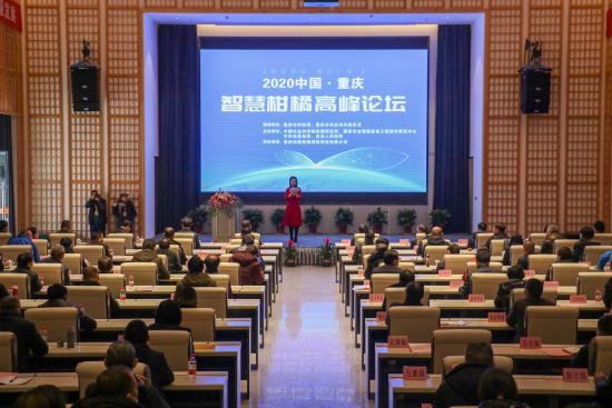 图为2020中国(重庆)智慧柑橘高峰论坛。肖江川 摄