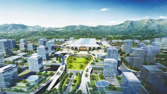 重庆东站枢纽主体结构明年开建