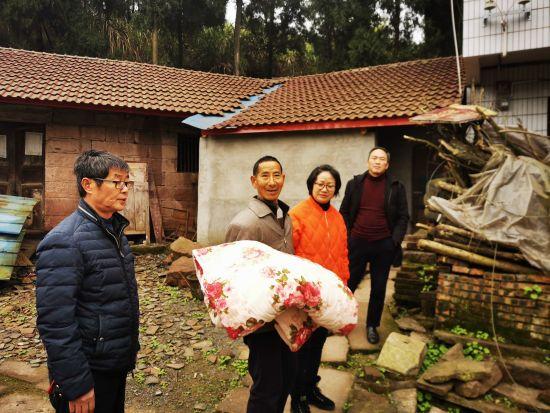 陶祖贵家的房屋被修葺一新。 潼南区委统战部供图
