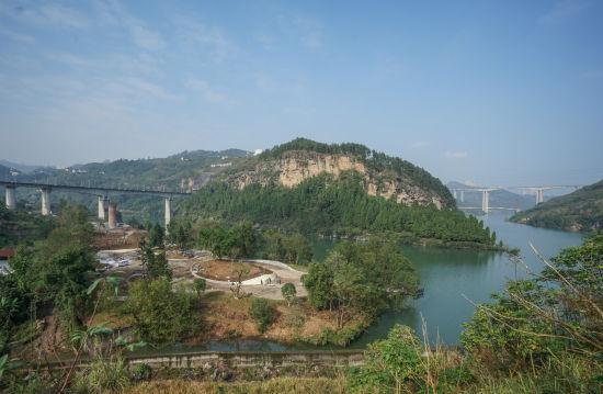 图为现在的龙河(丰都段)。丰都县委宣传部供图