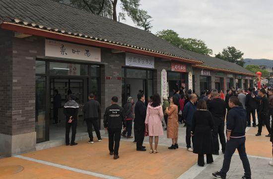 图为重庆市蚕桑特色产业街开街。肖江川 摄