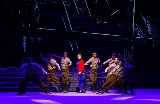 图为川剧《江姐》剧照。重庆市川剧院供图