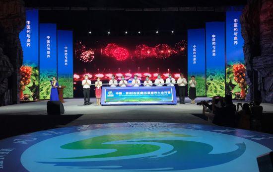图为中国·重庆(石柱)第五届康养大会开幕式。肖江川 摄