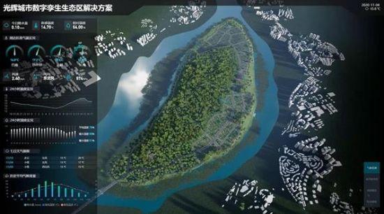 图为系统展示图。光辉城市供图