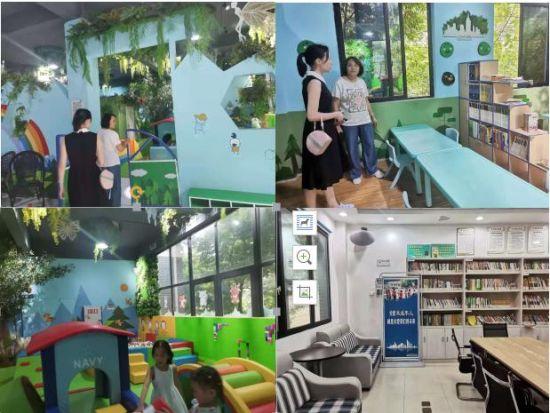 專業老師在唐桂社區兒童之家開展督導