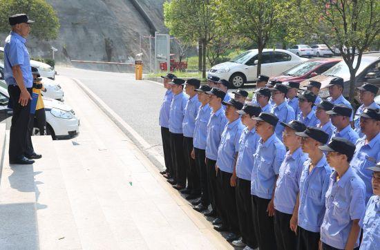 图为花溪义巡队巡逻照片。巴南警方供图