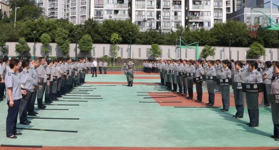 图为培训现场。巴南区警方供图