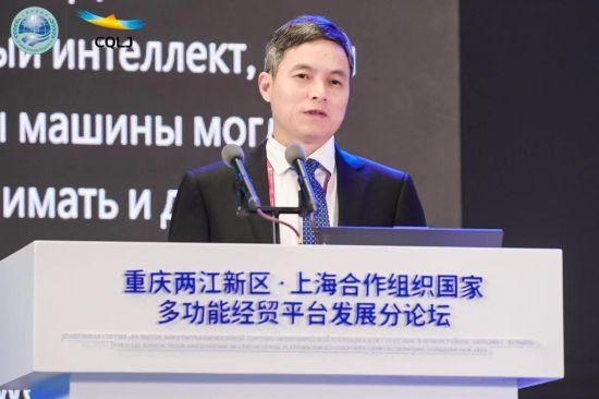 科大讯飞总裁吴晓如作主题演讲。科大讯飞供图