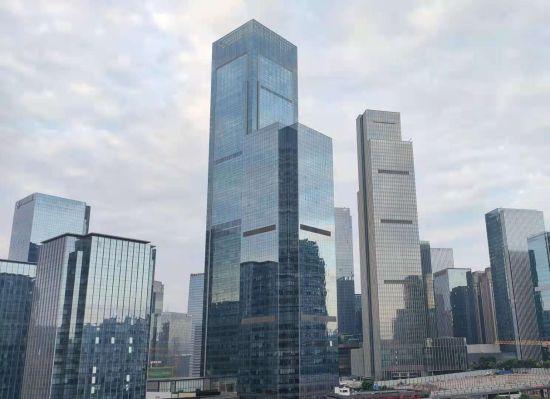 重庆国金中心。袁子寒 摄