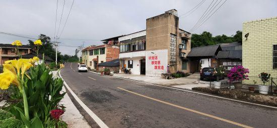 图为铜梁创建四好农村路示范镇增添乡村振兴成色。赵武强 摄