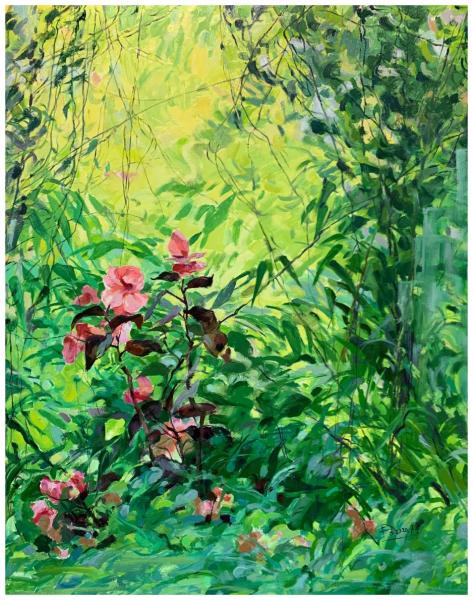 《2020春之祭》(油画)180×150cm