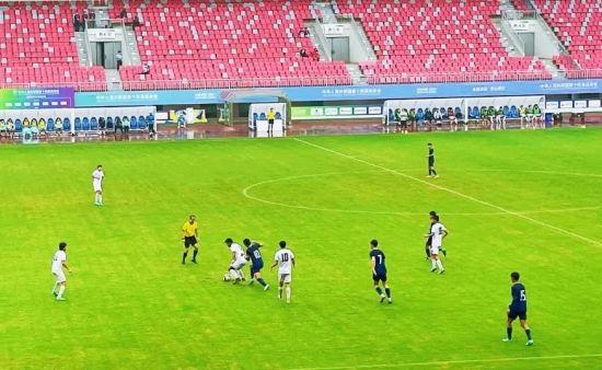 图为重庆U18男足征战第十四届全运会。重庆市足管中心供图