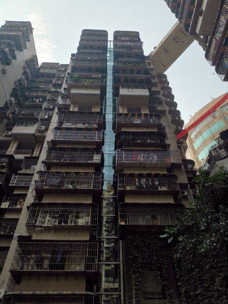 """二号站平台APP重庆最高老旧居民楼加装电梯竣工 55户居民迎来""""电梯时代"""""""