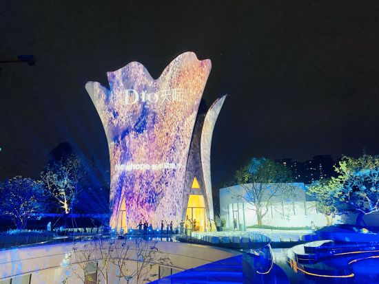 图为重庆新希望地产D10天际项目实景示范区启幕现场。曹阳菲 摄