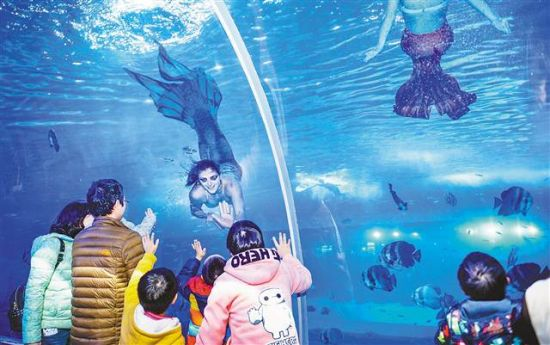 儿童日,由新加坡汉海海洋世界集团投资打造的海洋世界,向该托管中心50