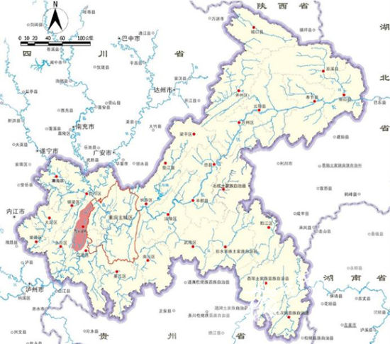 璧山区区位图.重庆市规划局供图 华龙网发