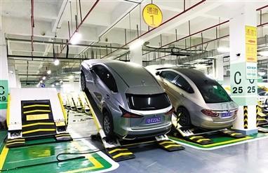 """首款""""重庆造""""AGV智能停车机器人9月之后投用"""