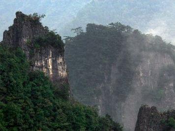武陵山大裂谷 别有洞天